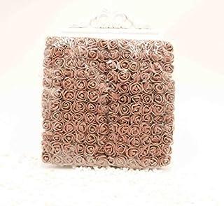 ZILLE-Artificial & Dried Flowers - 144pcs 2 cm MINI foam rose artificial bouquet rose bear wedding christmas wall flower d...