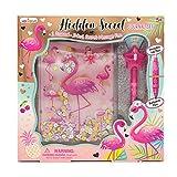 Hot Focus Flamingo Secret Notebook Journal...