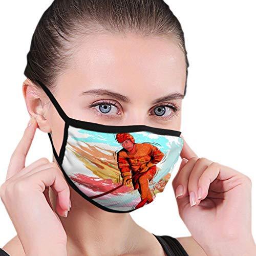 Herbruikbare neushoes, anti-stof warme luchtbeller, half gezicht hoes, concept sportman spelen ijshockey natuur wasbaar mondbeschermer, verstelbare oorlussen, vrouwen mannen mondhoes