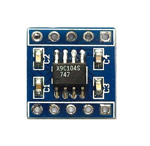 DaoRier X9C104 Digitale Potentiometer Sensor Modul DC 5V
