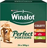 Winalot Wet Dog Food Perfect Portions Mixed In Gravy, 24x100g