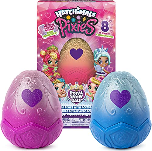Hatchimals, Pixies Royals 2-Pack, 2.5-Inch Collectible Dolls and...