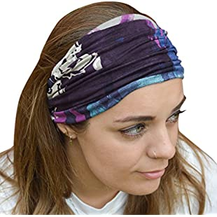 Antonia York Headband Unisex - Comfortable Stretchy - Ski Beach Yoga Gym:Maskedking