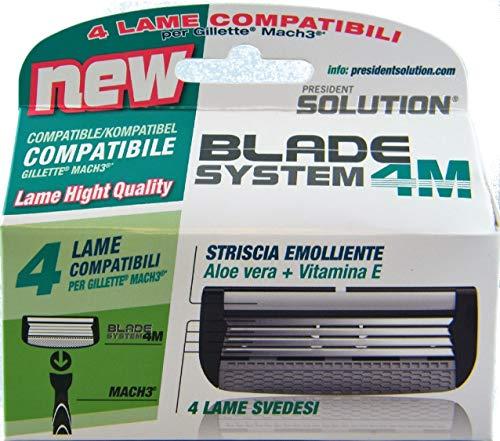 Láminas compatibles con Gillette Mach3.