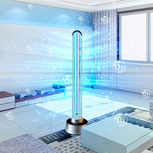 Lampada Germicida UV UVC con Lampadina A Ozono Lampada Sterilizzatore UV-C Timer Controllo Remoto 150 Watt Minuti 5/15/30 Minuti - Portata Massima di Radiazione: 200m2