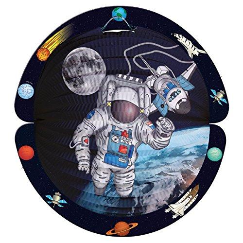 Folat Laterne Weltraum-Astronaut 28 cm