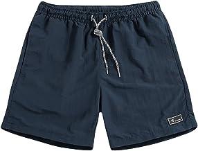 Keerads Zwembroek voor heren en jongens, kort, veelkleurig, sneldrogend, beachshorts, boardshorts, strandshorts, trainings...