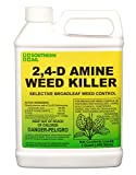 Southern Ag Amine 2,4-D WEED KILLER, White Bottle
