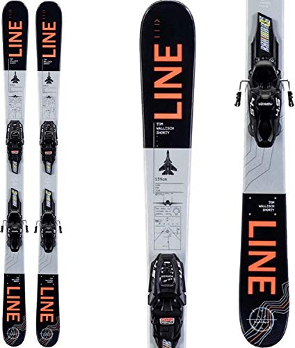 Line 2020 Tom Wallisch Shorty 119cm Skis w/ 4.5 Bindings