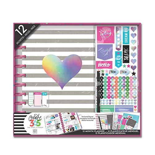 """Create-365-HP-Planer-Set - """"Best Year"""" - von: Me & My Big Ideas, Papier, Mehrfarbig, 25.5 x 36.5 x 3.8 cm"""