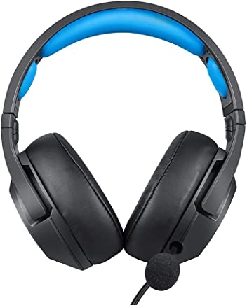 Auriculares Gaming – ONIKUMA K9 Cascos Gaming Auriculares para Juegos para PS4, Xbox One (Adaptador Necesidad), Nintendo Switch (Audio) con Sonido Claro, Luz LED, Micrófono con Cancelación de Ruidoo