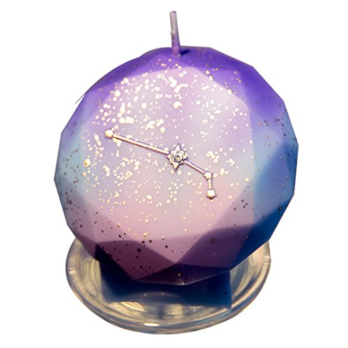 Birthday Zodiac Candles Cake Candles for Birthday Festive Party Anniversary (Aries)