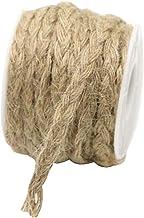 Durable Natural Jute Rope Hand Woven Hemp Rope Decorative Rope,20 M