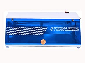 Gabinete de esterilizador m/áquina Profesional de desinfecci/ón con Calentador de ozono UV Pinzas de Tijera Manicura Instrumentos de desinfecci/ón de peluquer/ía UE