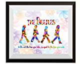 Uhomate The Beatles Poster Beatles Art Beatles Wall Decor