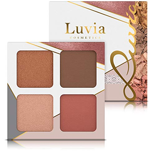 Make-up Set Palette Luvia, 4-in-1 Gesichtspalette Mit Blush, Highlighter, Bronzer & Konturpuder - Medium