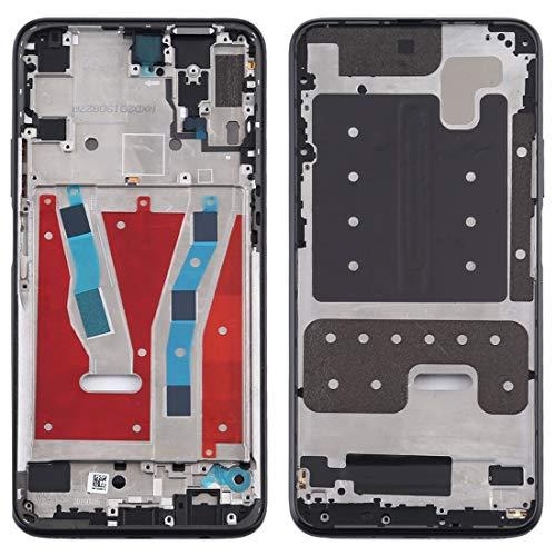 LLJDD - Placa de bisel de marco medio para Huawei P Smart Pro 2019 (negro) (color: azul)