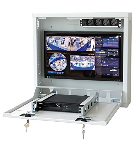 Techly Professional 104448 Box di Sicurezza per DVR e sistemi di videosorveglianza Grigio Grigio
