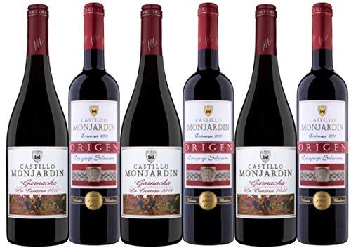 Lote 6 botellas - Colección Vinos Tintos Más Vendidos de Navarra - Crianza Selección y Garnacha