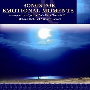 Songs for Emotional Moments - Arrangements of Johann Pachelbel