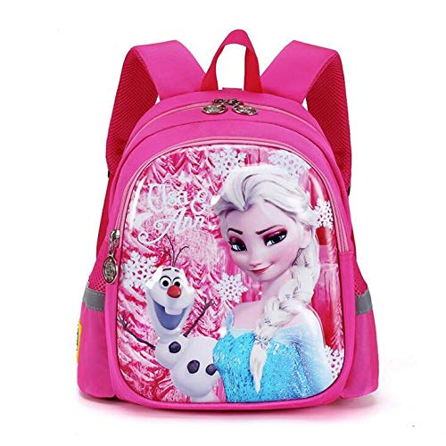 Toddler Backpack Yuan Ou Frozen Bag Cute School Bag Children Toy Doll Backpack for30x20x14cm Picture Color-3