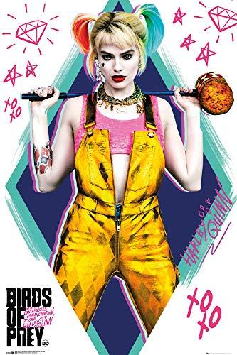 51012LzTlsL Harley Quinn Birds of Prey Posters