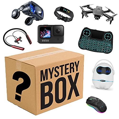 WXCCK Mystery Artículo-Agradables Regalos ¡Hay Una Posibilidad De Abrir: Robot Inteligente, Drones, Gafas Inteligentes, Cámara: Cualquier Cosa Posible: Todos Los Artículos Son Nuevos (Al Azar)
