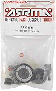 ARRMA Diff Set 43T Spiral, Front Or Rear: AR220041