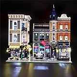 BRIKSMAX Kit de Iluminación Led para Lego Creator Expert Gran Plaza, Compatible con Ladrillos de Construcción Lego Modelo 10255, Juego de Legos no Incluido