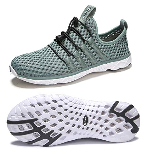 DLGJPA Women's Lightweight Quick Drying Water Shoes for Beach or Water Sports Slip On Walking Shoes