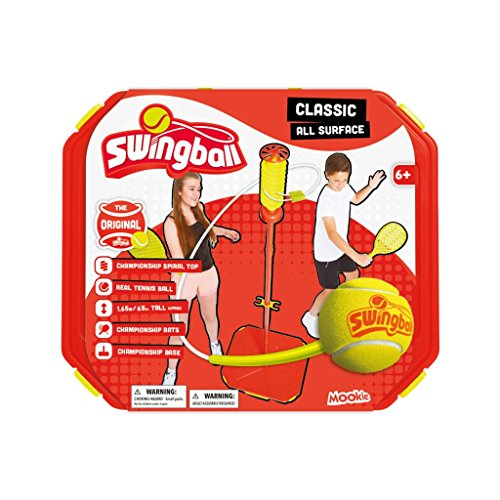 Swingball Classic All Surface Set - Tetherball Game - Mookie Toys
