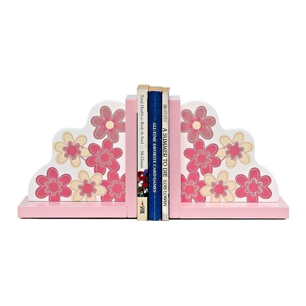 徒歩でフォーマットチャップRMJAI リビングルーム 本棚クリエイティブ家族ブックエンドかわいい形状ジュエリー寝室デスクトップ子供部屋ブックスタンドピンク飾り装飾品21×10×16センチ 家庭やオフィスに最適