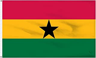 Home and Holiday Flags 3x5 Ghana Flag West African Republic Banner Country Pennant
