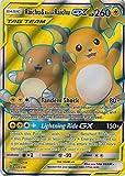 Raichu & Alolan Raichu Tag Team GX - 220/236 - Full Art Ultra Rare - Unified Minds