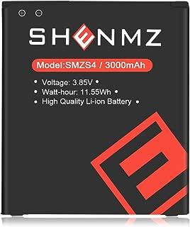 Galaxy S4 Replacement Battery,【Upgraded】 3000mAh Li-ion Replacement Battery for Samsung Galaxy S4 Active i9295 i537   Galaxy S4 Spare Battery i9500 i9505