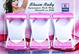 SEAHAVEN Max Disposable 6 Blades Body & Bikini Shaving Razor For Women - Pink