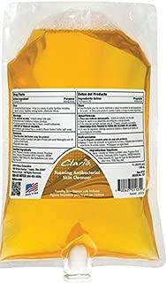 Betco 7512900 Clario Foaming Anti-bacterial Skin Cleanser, 1 Liter, Yellow (Pack of 6)