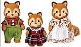 Sylvanian Families - 5215 - Familia Panda Rojo