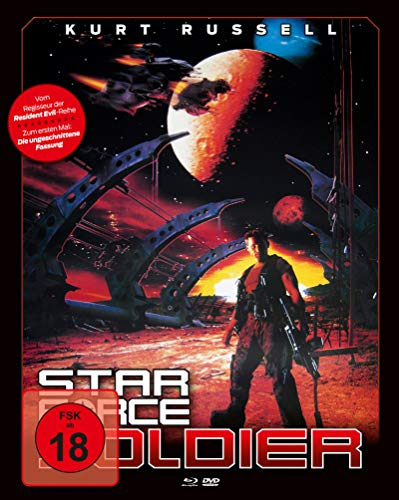 Star Force Soldier (Mediabook, Blu-ray + DVD) (Cover B)