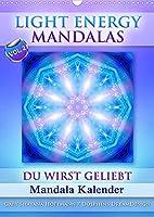 Light Energy Mandalas - Kalender - Vol. 2 (Wandkalender 2022 DIN A3 hoch): Lichtvolle Mandalas mit inspirierenden Seelenbotschaften (Monatskalender, 14 Seiten )