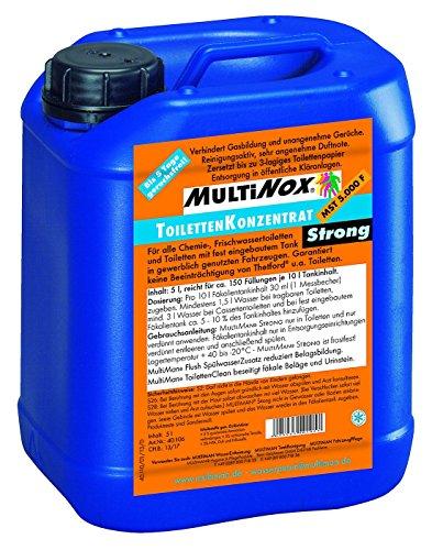 MultiSan ToilettenKonzentrat 'Strong' (auf Stellplätzen, unverdünnt frostsicher), Inhalt:1.5 l