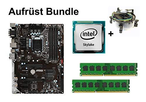 Aufrüst Bundle - MSI Z170-A PRO + Intel Core i3-6300T + 32GB RAM #112614