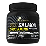 Olimp Gold Salmon 12000 Amino Mega Tabs - Aminosäuren, 1er Pack (1 x 300 Tabletten)