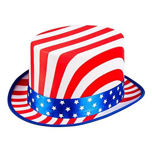 Boland 44963 - Sombrero de Estados Unidos, color azul, blanco y rojo