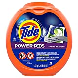 Tide Power PODS Laundry Detergent Pacs, Designed for Large Loads, Spring Meadow, 41 Count