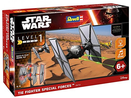Revell 06751 Star Wars - Tie Fighter Special Forces con luz y sonido