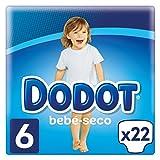 Dodot Pañales con Canales de Aire Bebé-Seco, Talla 6, para Bebes de 13+ kg - 22 Pañales