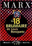 Le 18 Brumaire de Louis Bonaparte - Mille et une nuits - 01/10/1997