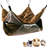 Oncpcare - Amaca a gabbia per animali domestici, amaca a forma di gabbia, per animali domestici, per pappagalli, furetti, scoiattoli, criceti, ratti