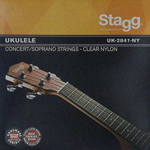 Stagg UK2841NY - Cuerdas para ukelele (nailon)